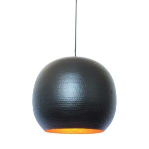 Industriële hanglamp Artisan XL Zwart-0