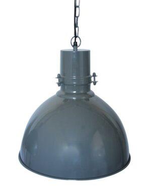 Industriële hanglamp Urban dark grey-0