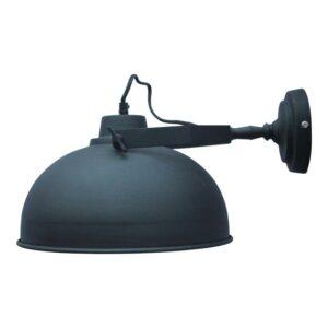 Industriële wandlamp Urban vintage black 30 cm-0