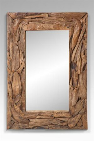 Spiegel van resthout