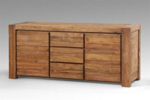 Teakhouten dressoir Tuban 200 breed
