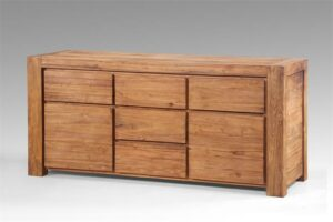 Teak dressoir Tuban 200 breed