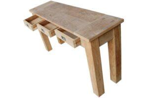 Teak side table Dingklik-0