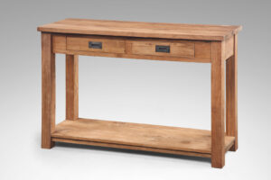 teak side table classic 015